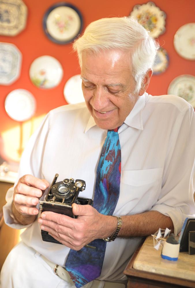 Retrato de Dr. Jesus Lopes Viegas para homenagem prestada aos colegas falecidos