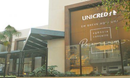Unicred chega a Cascavel com agência Premium