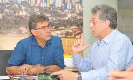 Reunião com prefeito de Cascavel e AMC